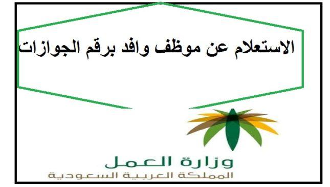 Photo of الاستعلام عن وافد برقم الجوازات : الخطوات وطريقة الاستعلام عن بلاغ هروب