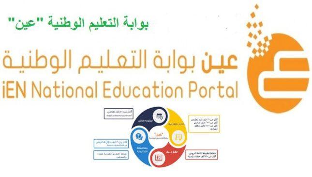 Photo of عين .. بوابة التعليم الوطنية : تعرف على مزايا نظام عين واهم خدماته