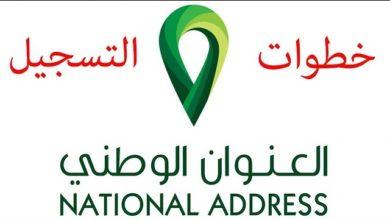 Photo of التسجيل في العنوان الوطني السعودي خطوة بخطوة