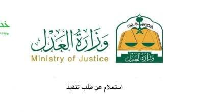 Photo of استعلام عن طلب تنفيذ بوزارة العدل من خلال رقم الهوية أو برقم الطلب